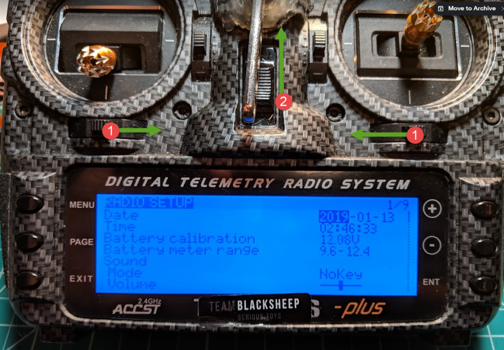 How To Put Your OpenTX Radio In Bootloader Mode – icantfly