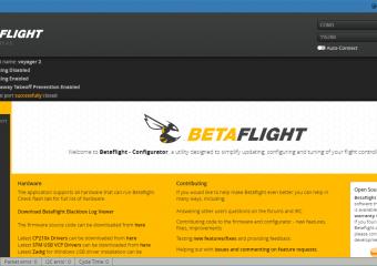 Restore BetaFlight Configuration