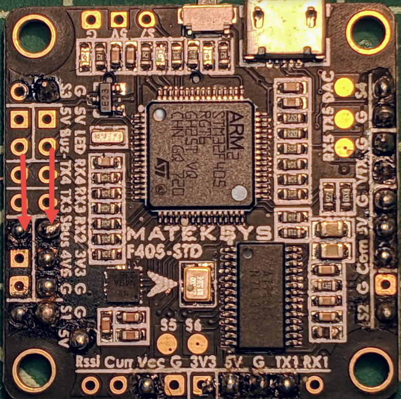 How To Wire TBS CrossFire Nano Transmitter To A Flight