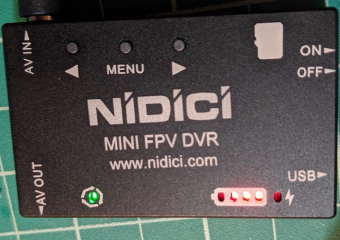 NIDICI DVR AV Cable Fix